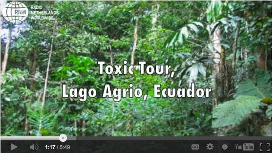 Firmas para pedir al Papa Francisco que apoye a los afectados por la contaminación de Texaco en Ecuador