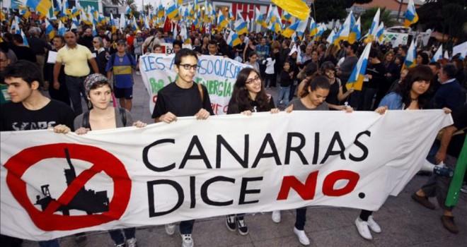 Ejército español a las ordenes del petróleo